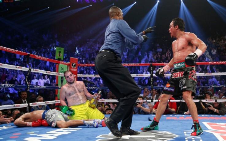 Boxing Manny Pacquiao v Juan Manuel Marquez